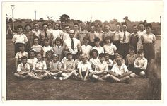 Rare photos of the Beatles in the upcoming Liverpool Beatles Auction to be held in August. Paul McCartney school class photo.