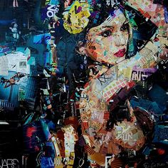 Collages de Derek Gores !