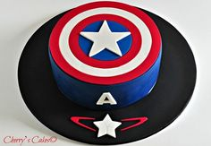 Cherry's Cakes: Captain America - Age of Ultron - Visit to grab an amazing super hero shirt now on sale! Captain America Sheild, Captain America Party, Avengers Birthday Cakes, Superhero Birthday Cake, Cupcakes Capitan America, Memes Del America, Pastel Capitan America, Anniversaire Captain America, Captain America Birthday Cake