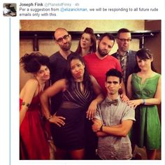 Cast of Night Vale, and the best response to rude comments.