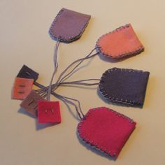 felt teabags Felt Decorations, Diy Toys, Cards, Accessories, Products, Dramatic Play, Maps, Playing Cards, Gadget