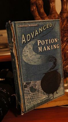 Harry Potter Advanced Potions book by groundpig.geo, via Flickr
