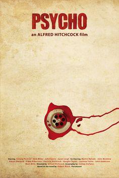 Psycho - movie poster - Oscar Delmar