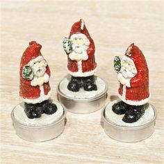 Vela con forma de Santa Claus de Gisela Graham en www.achica.es