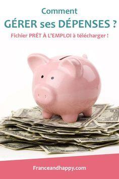 Comment gérer ses dépenses ? Je vous donne ma methode dans cette article avec MON FICHIER PERSONNEL a compléter !!!