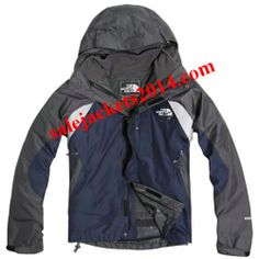 2013 The North Face 3 in 1 WaterBlue Jackets Men