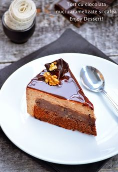 Chocolate & Coffee Mousse Cake