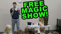 FREE MAGIC SHOW!!!