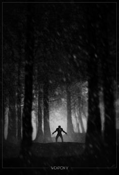 Superhero Noir Posters by Marko Manev - Weapon X