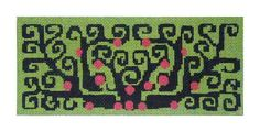 Elements Fine Handpainted Needlepoint, stitch guide for this available from Napa Needlepoint