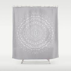 Light Grey White Shower Curtain grey shower curtain gray