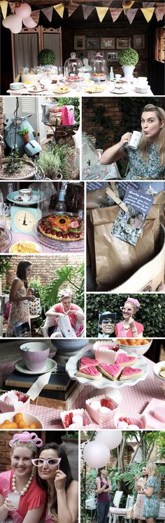 housewife bridal shower-can one of my single girlfriends get engaged so I can throw her this style bridal shower. Baby Wedding, Wedding Blog, Wedding Styles, Vintage Housewife, Retro Housewife, Retro Bridal Showers, Party On Garth, Kitchen Shower, Up Girl