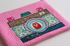 Pouch with Camera applique
