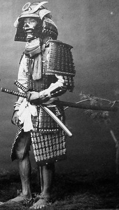 He was not lost there, he'd fight his way, the way of the Samurai. Alone