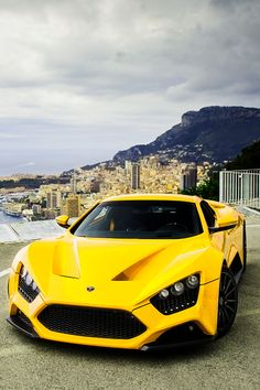 Zenvo ST1 High Performance Sports Car - Not completely head over heals with the color.. but who cares.... Ill ride anyday..!!!!