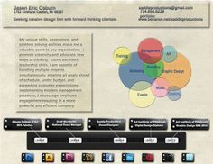 Resume_Osburn_J by Jason Osburn, via Behance