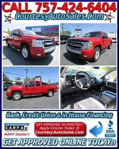 2008 Chevrolet Silverado 1500.  Courtesy Auto Sales Offers Financing For Those With Not So Good Credit, Bad Credit, Or 1st Time Buyers With No Credit....  Courtesy Auto Sales Is Proudly Serving Your Used Car Needs In Chesapeake, Virginia Beach, Norfolk, Portsmouth, Suffolk, Hampton Roads, Richmond, And All Of The Virginia Areas Since 1976...  If You Have Any Additional Questions Please Contact Us ...757-424-6404 -- 1208 S.Military Hwy Chesapeake, VA 23320... CourtesyAutoSales.com