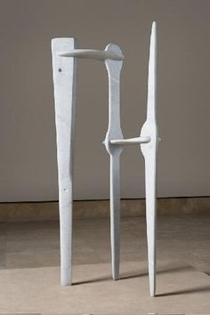 The White Gunas (Abstract Sculpture) Isamu Noguchi