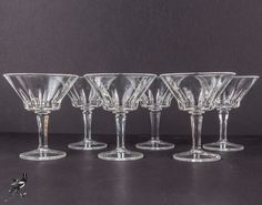 Mid Century Champagne Coupe/Saucer or Cocktail by TheCordialMagpie