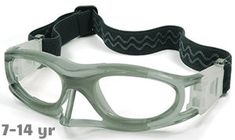 7c66cabd86c  7-14 yrs  Kids Sports Goggles BL012 Gray with Nose Protector (Prescription Rx  Lenses Available)