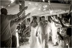 Wedding exit  |  Sparkler exit  |  Black and white  |  Beautiful wedding pictures  |  Bride and groom |  Bridal party  |  Wedding reception  |  Aislinn Kate Photography