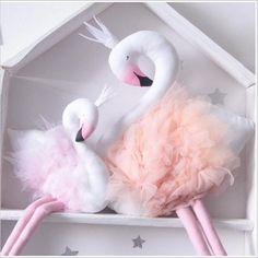 Ins игрушки 55 см лебедь куклы украшения фламинго ручной лебедь мягкая игрушка животные детская комната декор куклы и мягкие игрушки девушки подарки