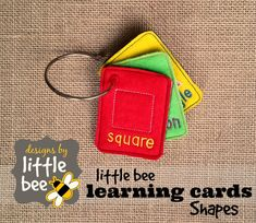 Learning Shapes ITH Flash Cards