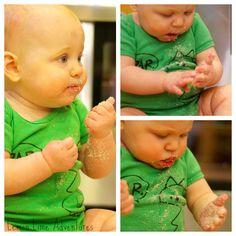 Baby Cloud Dough Explorations