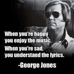 What's your favourite George Jones song? Country Music Quotes, Country Music Lyrics, Country Music Stars, Country Music Singers, George Jones, Music Lyric Tattoos, Tattoo Lyrics, Tattoo Quotes, Outlaw Country