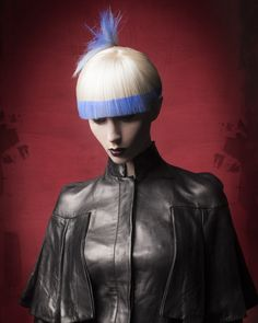 Salon Team of the Year winner: Van Michael Salons; Color Block Hair, Hair Color, Creative Hairstyles, Cool Hairstyles, Competition Hair, Wacky Hair, Gothic Hairstyles, Hair Photography, Editorial Hair
