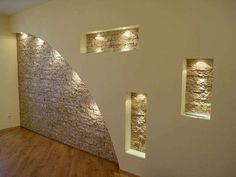 Idee pareti soggiorno in cartongesso - Pareti soggiorno in cartongesso