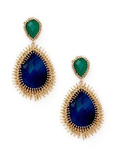 Kendra Scott Jewelry- love the spikey setting