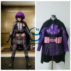 Kick Ass Hit Girl Cosplay Costume #kickass #hitgirl #cosplay #costume