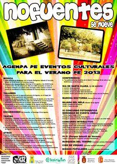 Julio y Agosto Actividades de verano en Nofuentes  Merindades