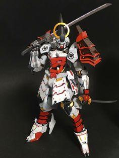 "Custom Build: 1/100 Gundam Barbatos ""Yoshitsune"" - Gundam Kits Collection News and Reviews"