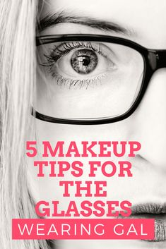 These 5 makeup tips for glasses wearers will help your eyes pop, your brows look. - - These 5 makeup tips for glasses wearers will help your eyes pop, your brows look amazing and overall give you the tips you need to be very happy with . Beauty Makeup, Eye Makeup, Hair Makeup, Makeup Brushes, Maskcara Makeup, Eyebrow Makeup Tips, Makeup Tools, Makeup Art, Makeup Products