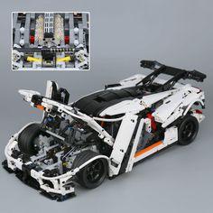 LEPIN Technic Series The MOC-4789 Changing Racing Car Building Blocks Toys - Blocks