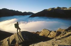 A Milford Track tem sido muitas vezes descrita como o melhor caminhada do mundo.  A trilha começa no extremo norte de Lake Te Anau e segue o seu caminho através de algumas das selvas mais vivas do mundo. Sua jornada termina com uma viagem de barco a partir de Sandfly Point até o cais de Milford Sound. .  É permitido um máximo de 40 caminhantes independentes a cada dia, caso contrário, a pista torna-se rapidamente superlotada e os danos ao meio ambiente aumentam