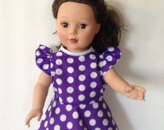 18 inch doll clothes, American girl, madame alexander