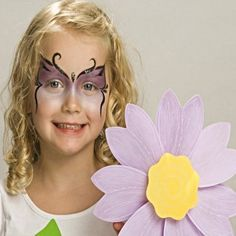 Sparkle Butterfly - Animals Face Paint Ideas - How to Face Paint - Snazaroo