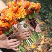 pretty bouquets for the month of October