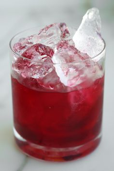 The ultimate cranberry vodka cocktail . . .
