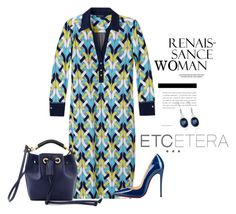 """""""Etcetera Spring 2016: Eloquent Dress"""" by timirac on Polyvore featuring Etcetera, Christian Louboutin, Anne Klein, Chloé, women's clothing, women's fashion, women, female, woman and misses"""