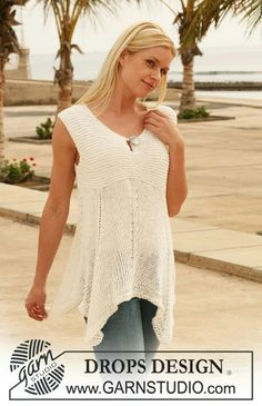 d64da1c8e172 Ravelry  113-7 Merry Morning pattern by DROPS design Summer Knitting