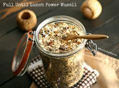 Full Until Lunch Power Muesli  {5 Points Plus Per Serving -- Makes 16 Servings}