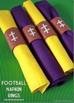 Football Napkin Ring