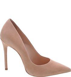Classic Scarpin Nobuck Nude Nude Pumps, Stiletto Heels, High Heels, Shoe Boots, Shoes Sandals, Oxford Boots, Classic Pumps, Shoe Collection, Peep Toe