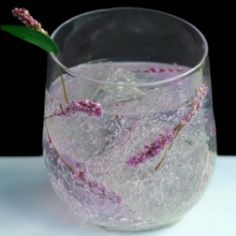 #Lavender #Vodka #Tonic