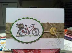 Summer Afternoon Bike by DeelishDesigns - Cards and Paper Crafts at Splitcoaststampers