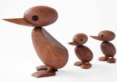 Duck and ducklings - Hans Bølling